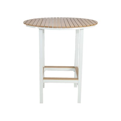Marina Bar Table Finish: White