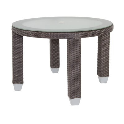 Signature Dining Table Round with Tempered Glass Top SB-4242