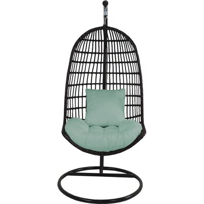 Skye Birds Nest Swing Chair with Stand Fabric: Mist