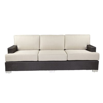 Signature Sofa with Cushions Fabric: Eggshell