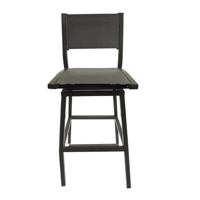 Marina 29 Swivel Bar Stool Finish: Gray