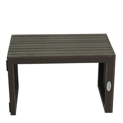 Marina Side Table Base Finish: Gray