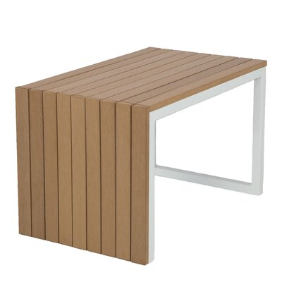 Marina Side Table Base Finish: White