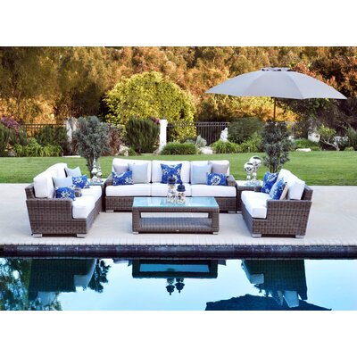 Magnificent Palisades Sunbrella Seating Group Cushions - Product picture - 136