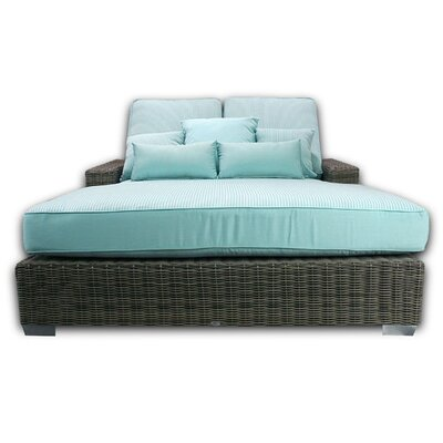 Palisades Double Chaise Cushions Color: Mist
