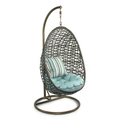 Skye Birds Nest Swing Chair Stand Fabric Mist picture