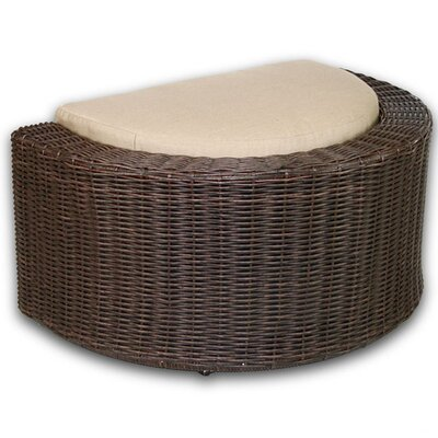 Palomar Ottoman with Cushion Fabric: Eggshell