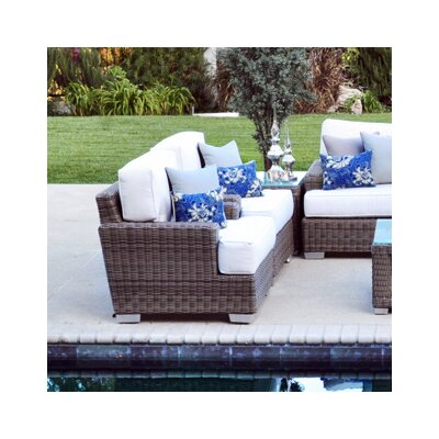 Palisades Love Seat Fabric: Dove