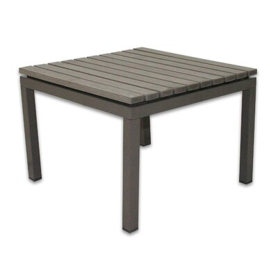 Riviera End Table Finish: Gray