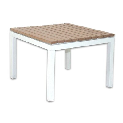 Marina End Table Finish: White