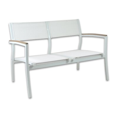 Marina Loveseat Color: White