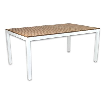 Riviera Dining Table Finish: White
