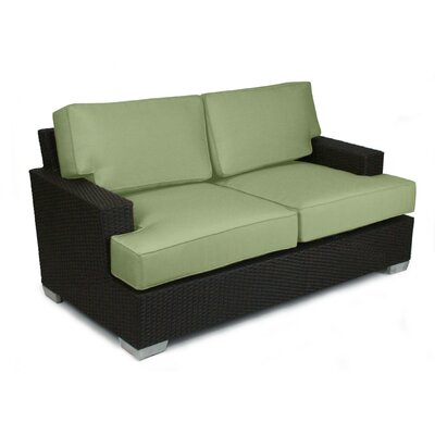 Signature Love Seat Fabric: Cilantro