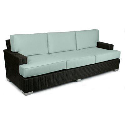 Signature Sofa with Cushions Fabric: Mist