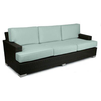 Signature Sofa with Cushions Fabric: Mist