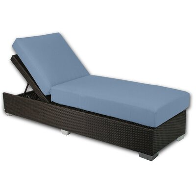 Signature Chaise Lounge Fabric Color: Sailor