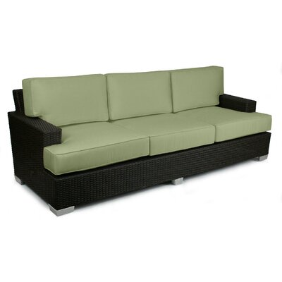 Signature Sofa with Cushions Fabric: Cilantro