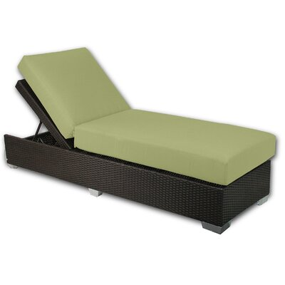 Signature Chaise Lounge Fabric Color: Kiwi