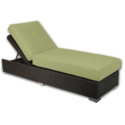 Signature Chaise Lounge Fabric Color: Kiwi