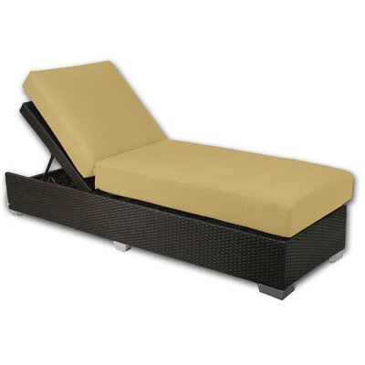 Signature Chaise Lounge Fabric Color: Daffodil