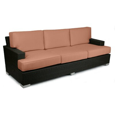 Signature Sofa with Cushions Fabric: Cayenne