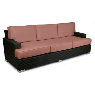 Signature Sofa with Cushions Fabric: Grenadine