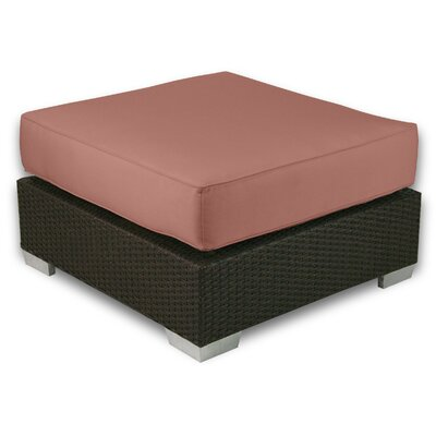 Signature Ottoman with Cushion Fabric: Grenadine
