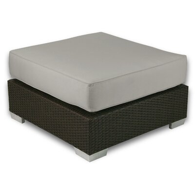 Signature Ottoman with Cushion Fabric: Dove