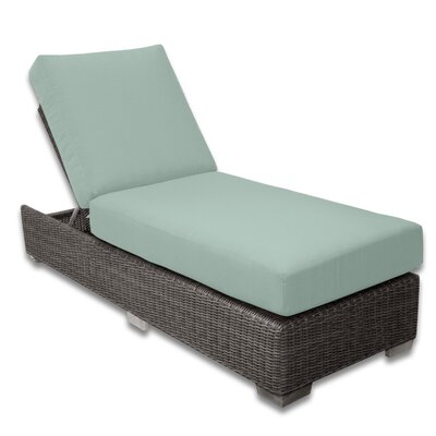 Palisades Chaise Lounge Fabric Color: Mist