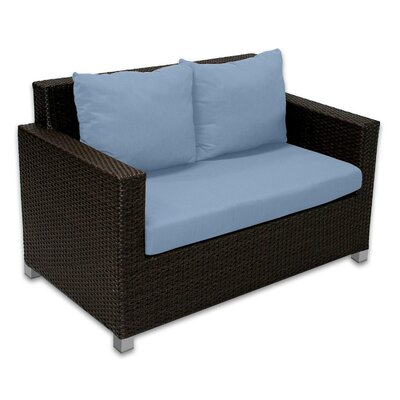 Skye Venice Loveseat with Cushions Fabric: Sailor