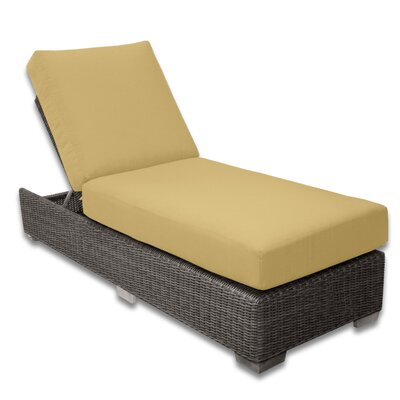 Palisades Chaise Lounge Fabric Color: Daffodil