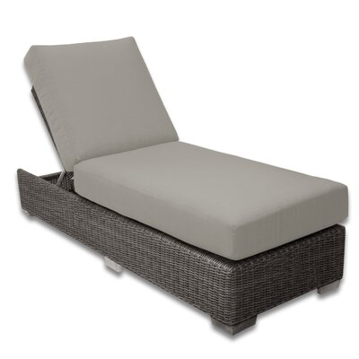 Palisades Chaise Lounge Fabric Color: Dove