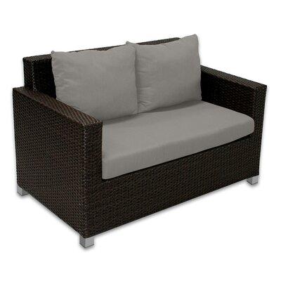 Skye Venice Loveseat with Cushions Fabric: Graphite
