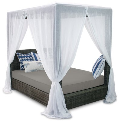 Money saving Queen Canopy Bed Product Photo