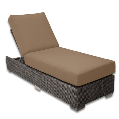 Palisades Chaise Lounge Fabric Color: Sierra