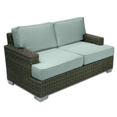 Palisades Love Seat Fabric: Mist