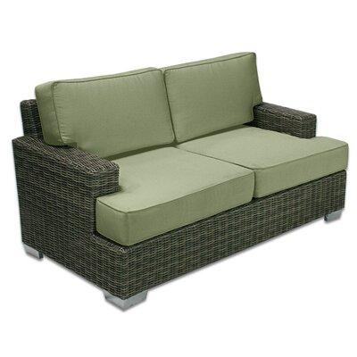 Palisades Love Seat Fabric: Cilantro