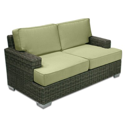 Palisades Love Seat Fabric: Kiwi