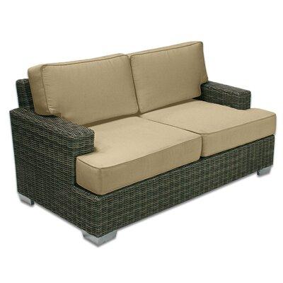 Palisades Love Seat Fabric: Dijon