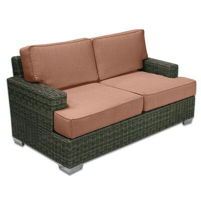 Palisades Love Seat Fabric: Cayenne