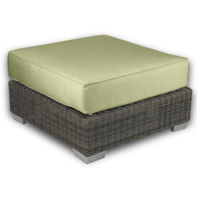 Palisades Ottoman with Cushion Fabric: Kiwi