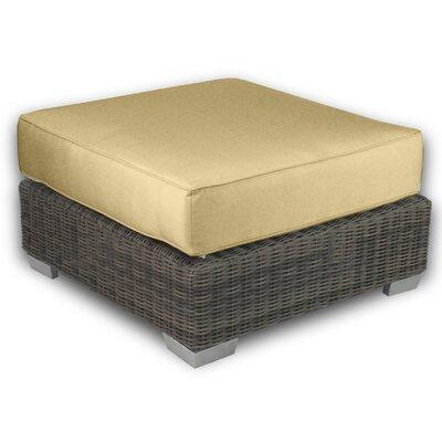 Palisades Ottoman with Cushion Fabric: Daffodil