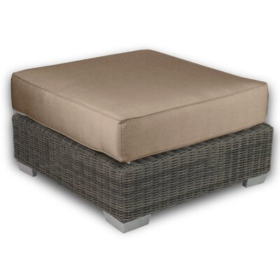 Palisades Ottoman with Cushion Fabric: Sierra