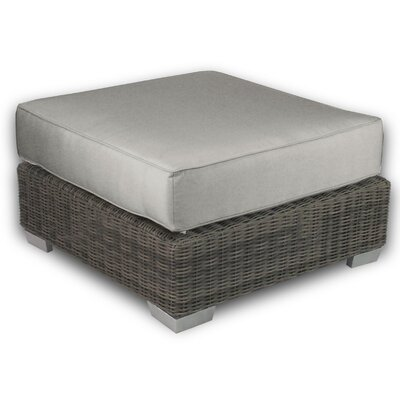 Palisades Ottoman with Cushion Fabric: Dove