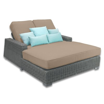 Palisades Double Chaise Cushions Color: Sierra
