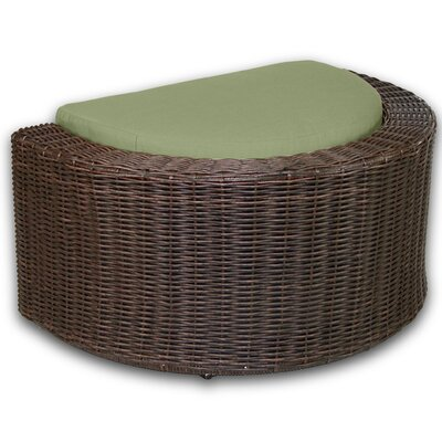 Palomar Ottoman with Cushion Fabric: Cilantro