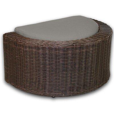 Palomar Ottoman with Cushion Fabric: Graphite