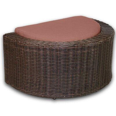 Palomar Ottoman with Cushion Fabric: Grenadine