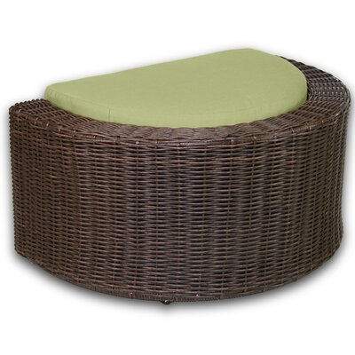 Palomar Ottoman with Cushion Fabric: Kiwi