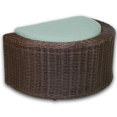 Palomar Ottoman with Cushion Fabric: Mist